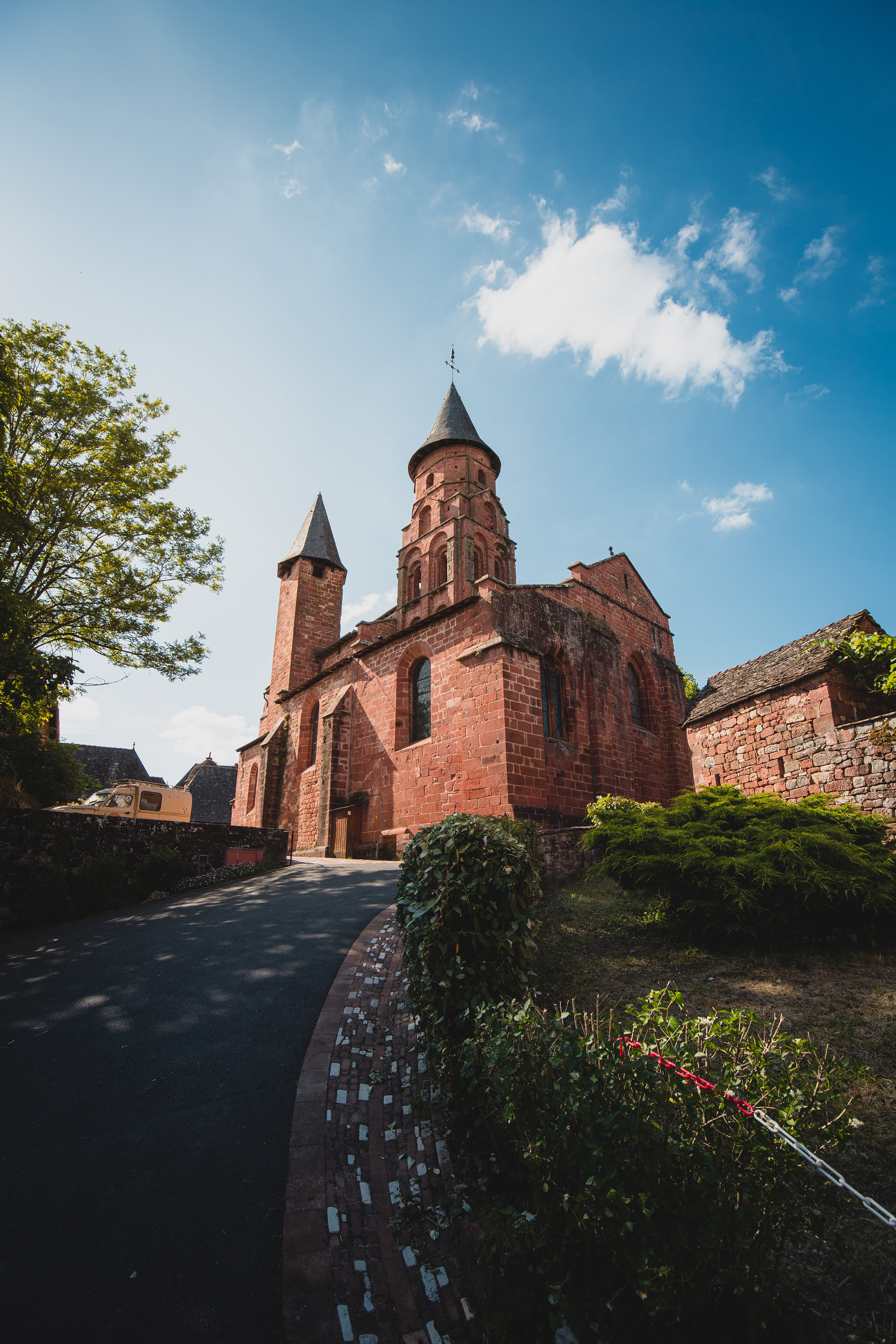 Collonges-la-Rouge, un village de Corrèze labellisé aux plus beaux villages de France